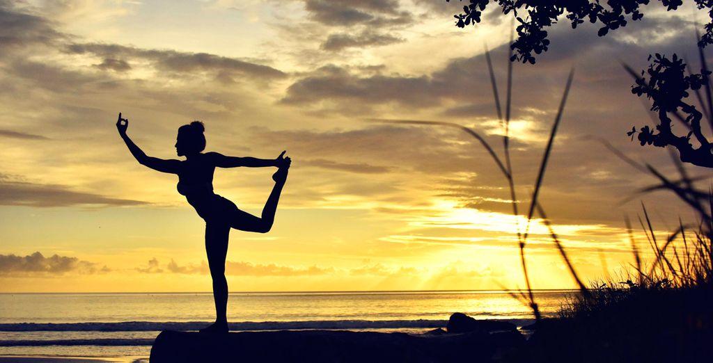 Un entorno zen de paz y armonía