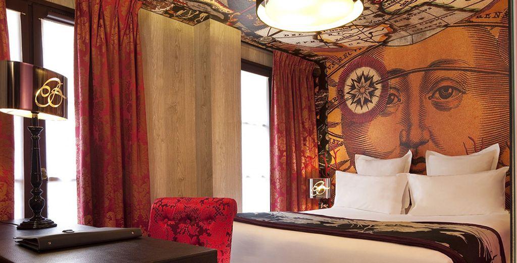 Bienvenido al Hotel Le Bellechasse Saint-Germain 4*