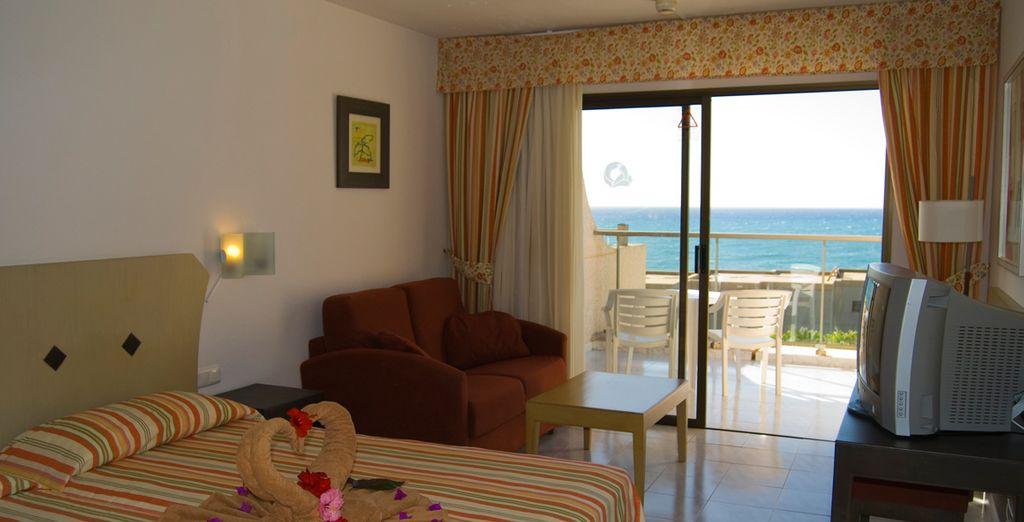 Le presentamos su habitación Doble con Vistas al Mar
