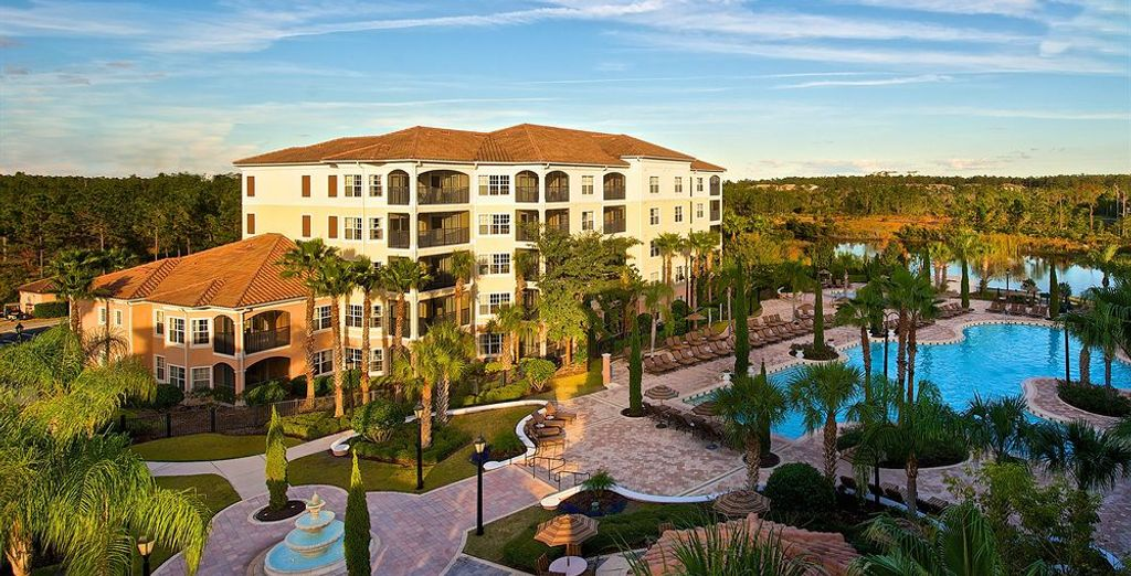 WorldQuest Orlando Resort 4* está a diez minutos en coche de Disney World