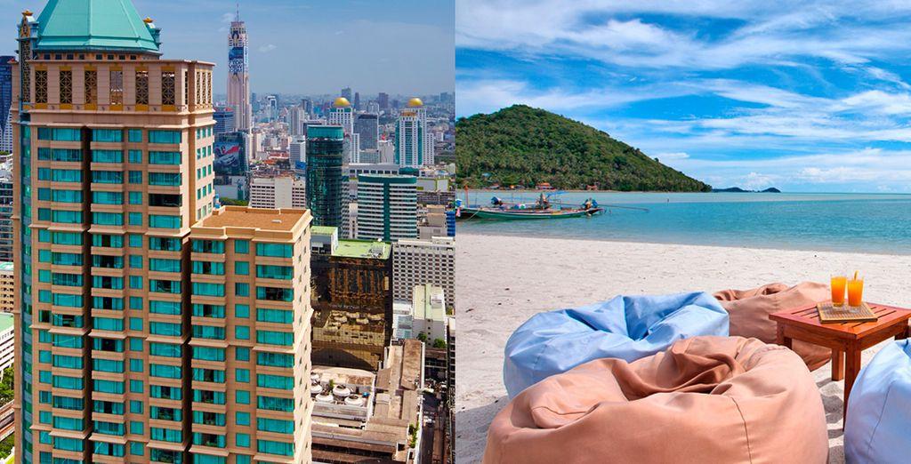 Conozca la capital y luego desconecte en las preciosas playas de Koh Samui, Hotel Grande Centre Point
