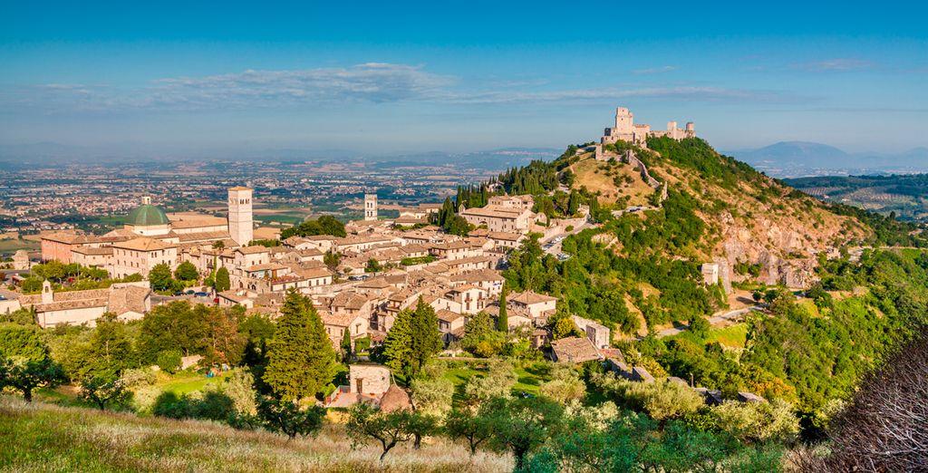 No se pierda la provincia de Perugia, región de Umbría