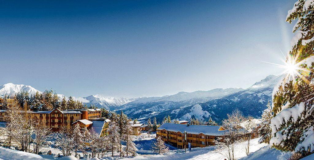 Bienvenido a tus vacaciones en Appart' Hotel Les Bergers