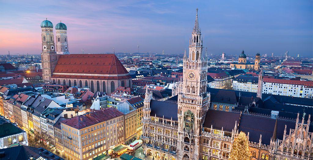 Hotel Arcona Living Munchen 4* te da la bienvenida en Múnich