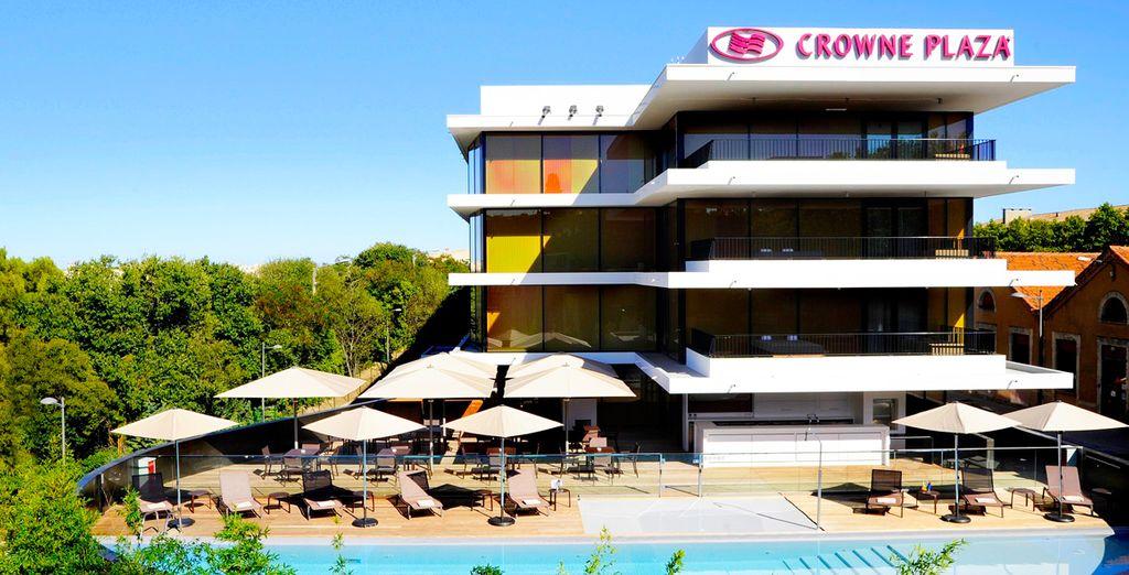 Fantástico y céntrico Crowne Plaza Montpellier - Corum 4*