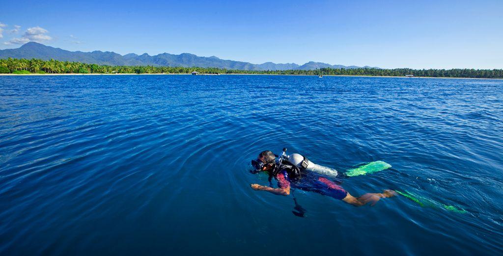 Relájese practicando deportes acuáticos