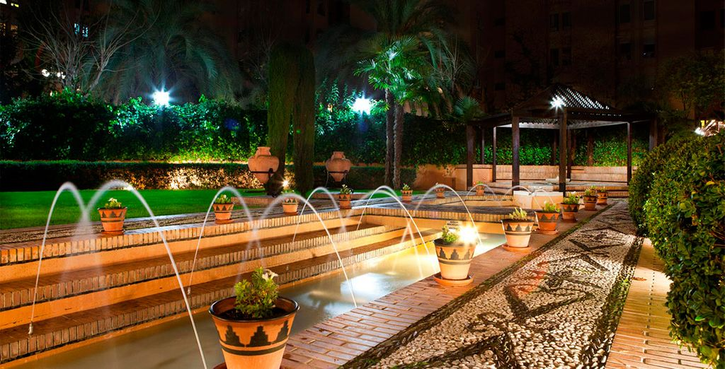 Disfrute de una estancia en el centro de Granada