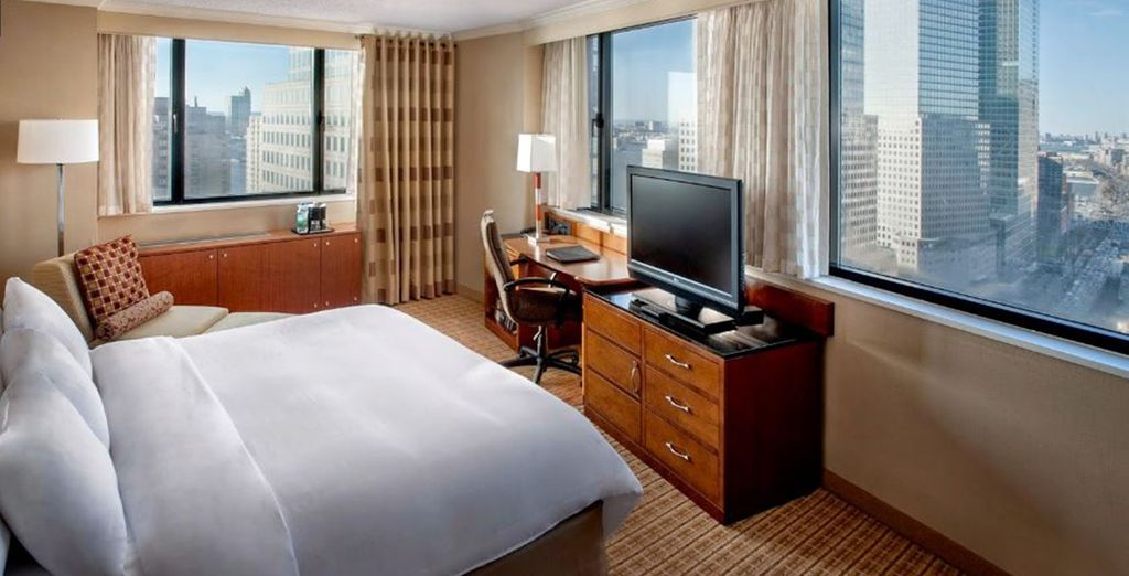 Hotel New York Marriott Downtown 4*