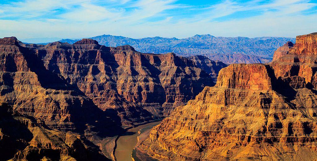 El Cañón del Colorado es uno de los destinos turísiticos más famosos de Estados Unidos