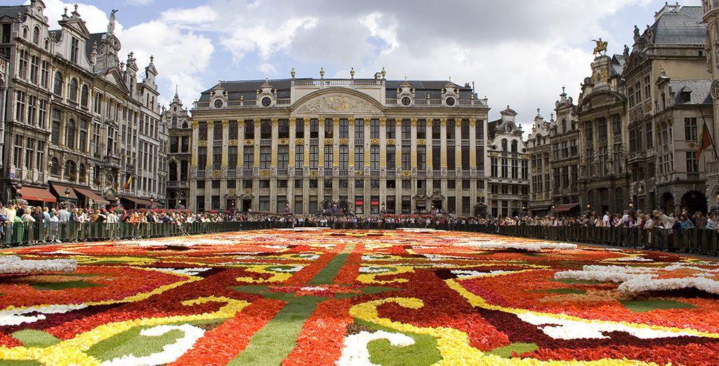Déjese que el romanticismo envuelva su estancia en Bruselas
