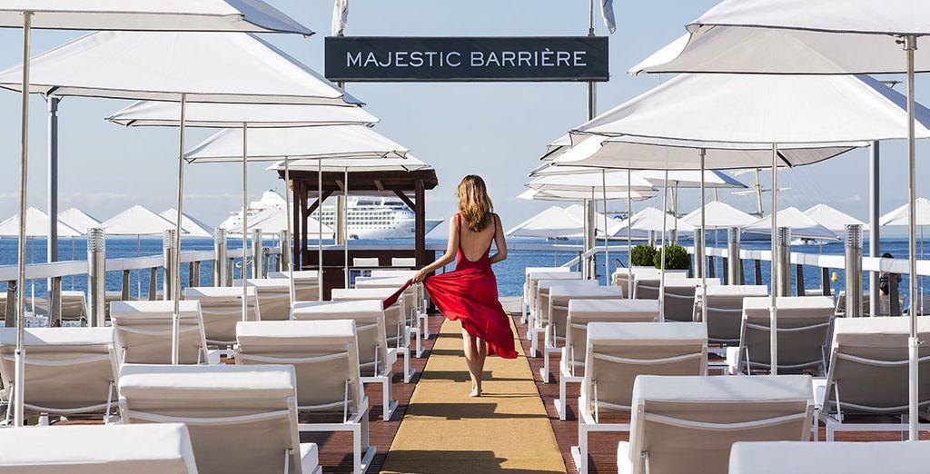 Hotel Barrière Le Majestic 5* te da la bienvenida