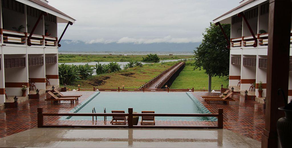 Ananta Inle Hotel 4*, en un ambiente relajante