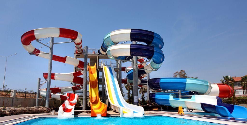 Toda la familia o amigos podran disfrutar aquí