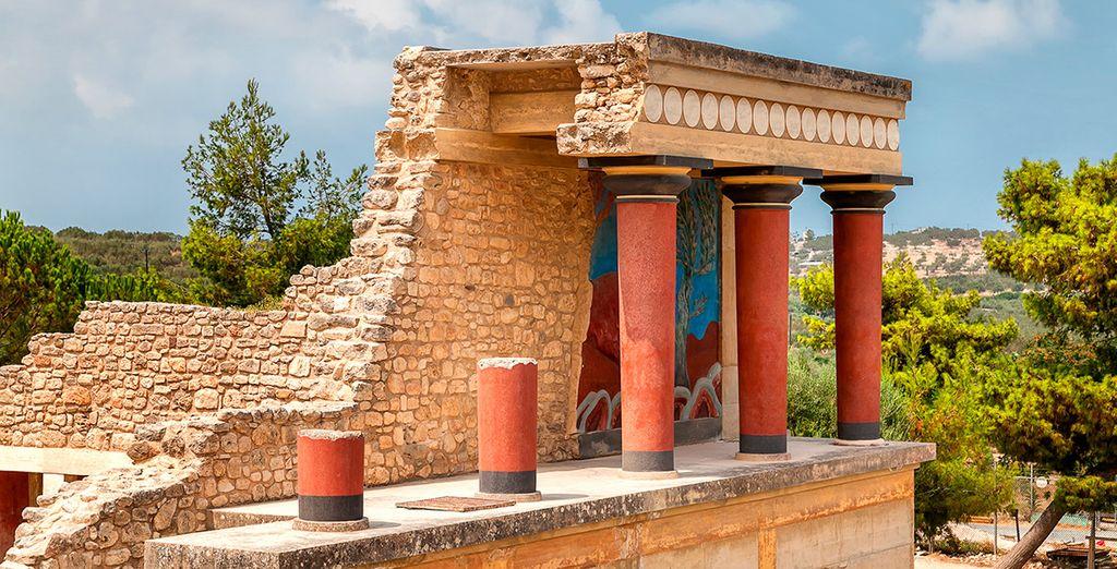 Visita el Palacio Minoico de Knossos