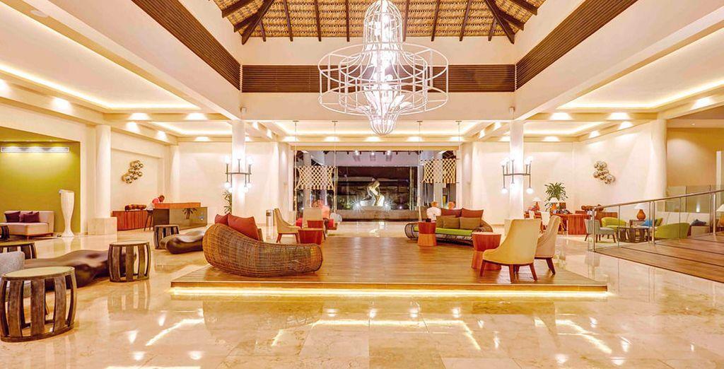 Interiores lujosos y sofisticados