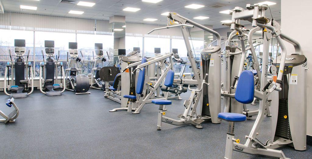 Además, disfruta de tu acceso gratuito al centro fitness