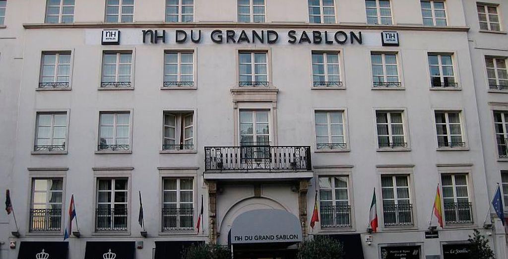 El Hotel NH du Grand Sablon le sorprenderá en cada uno de sus detalles