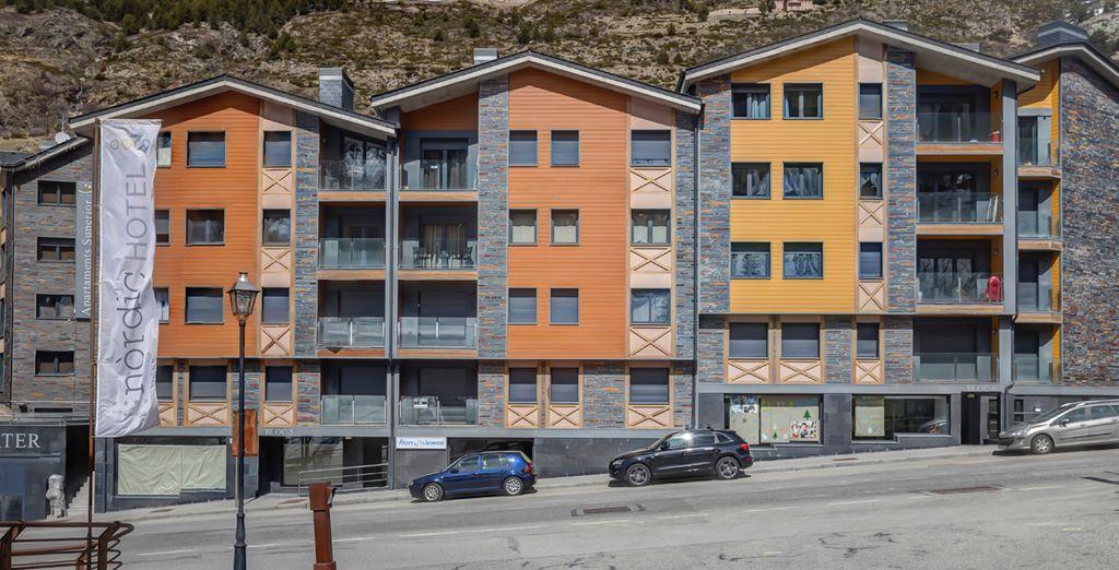 Entre España y Francia, el Principado de Andorra
