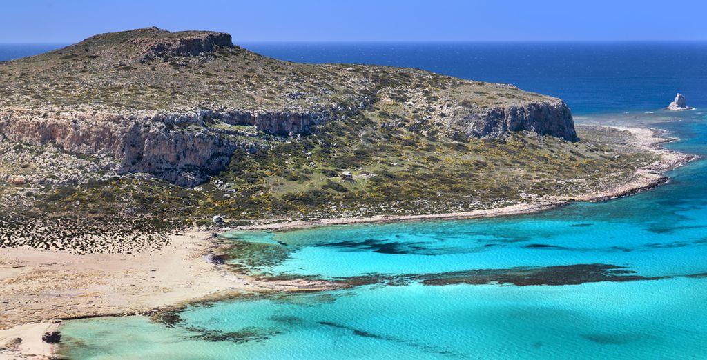 Bienvenido a la hermosa isla de Creta, con estancia en el Golden Rose Suites