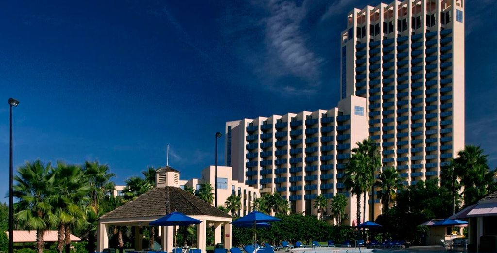 El Hotel Buena Vista Palace le da la bienvenida