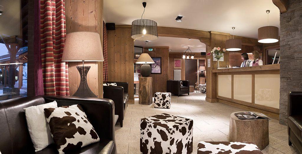 Pierre & Vacances Residence Premium Les Crets destaca por su elegancia