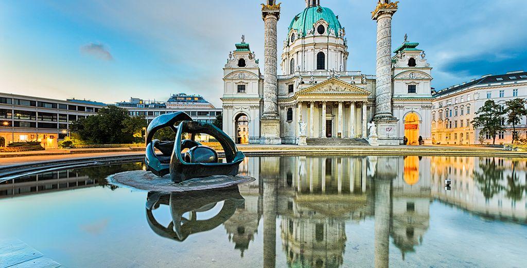Visite los monumentos más emblemáticos de la ciudad