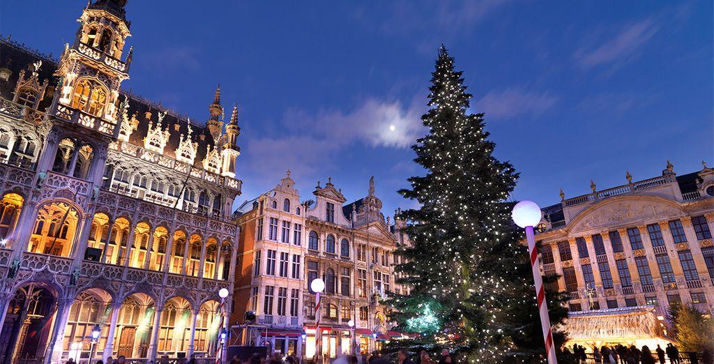 Viaje por navidad a Bruselas