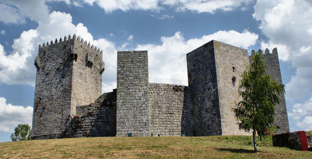 Visite el castillo de Montalegre