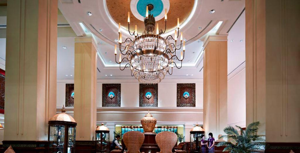 El hotel Sule Shangrila 5* es uno de los hoteles en los que se podrá alojar...