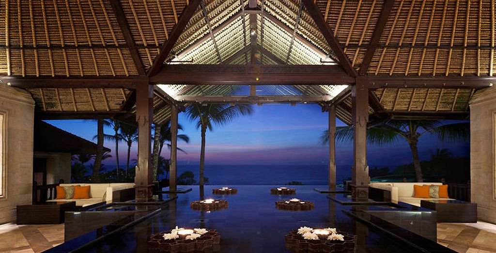 Pan Pacific Nirwana Resort & Spa, su hogar en Tanah Lot