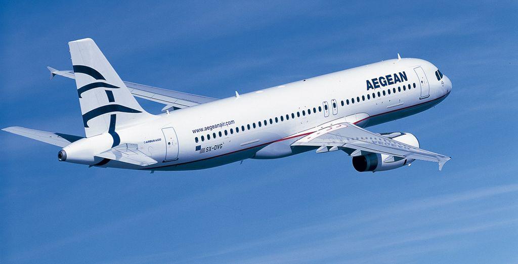Aegean Airlines, miembro de Star Alliance, es la mayor aerolínea griega proporcionando un servicio completo de excelente calidad