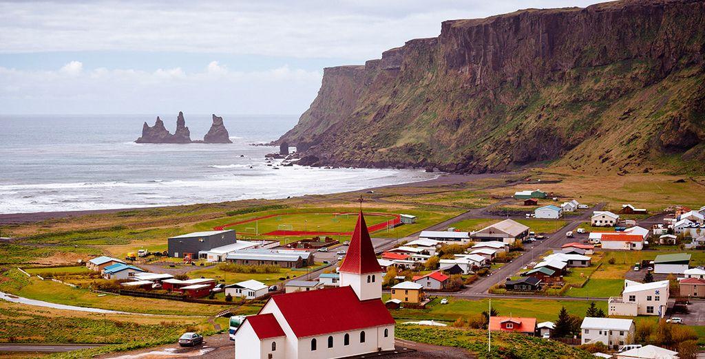 O visita el precioso paisaje de Vik