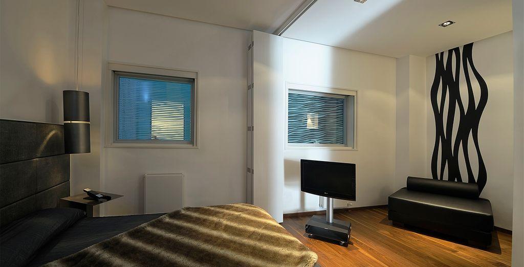 Una decoración de lujo para garantizarle estancias de máximo confort