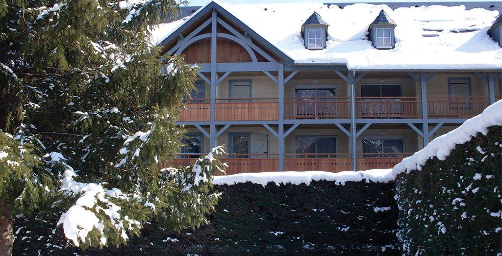 Bienvenido al Hotel Lagrange prestige Le clos Saint Hilaire