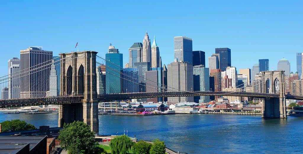 Nueva York está a sus pies