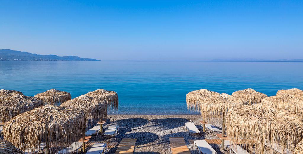 Bienvenido a un paraíso azul