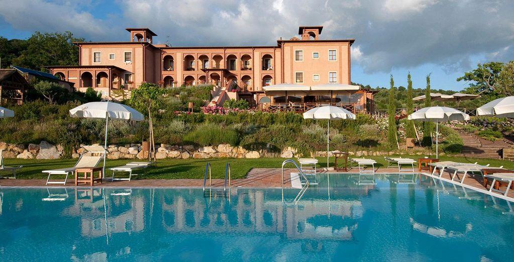 Alójate en Saturnia Tuscany Hotel 4*