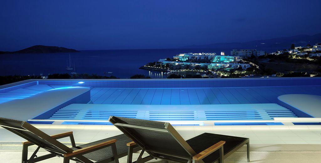 Espectaculares vistas desde la piscina del hotel