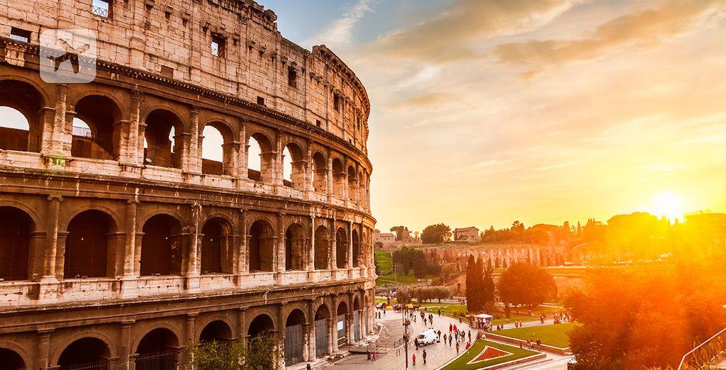 Descubra lo más emblemático de Roma