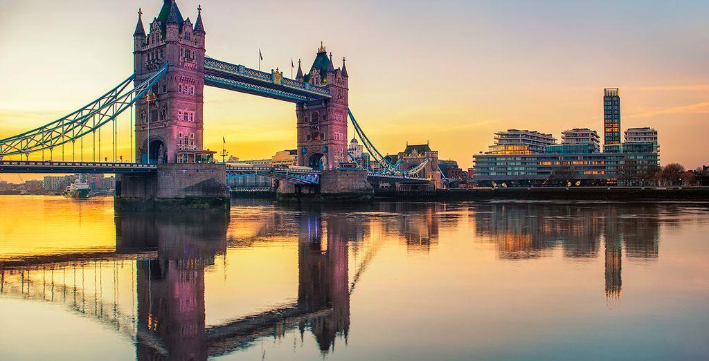 Tower Bridge, uno de los símbolos de la capital