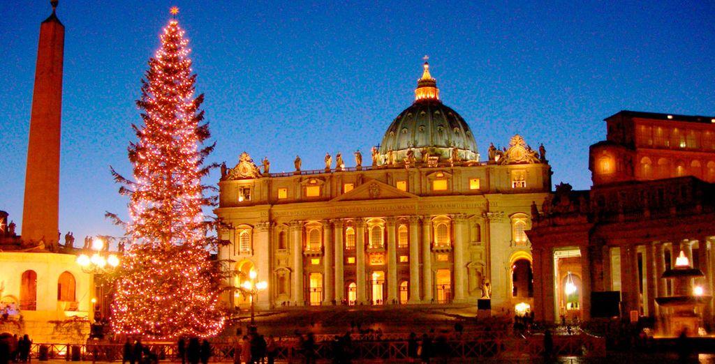 Venga durante todo el mes de Diciembre y viva la navidad