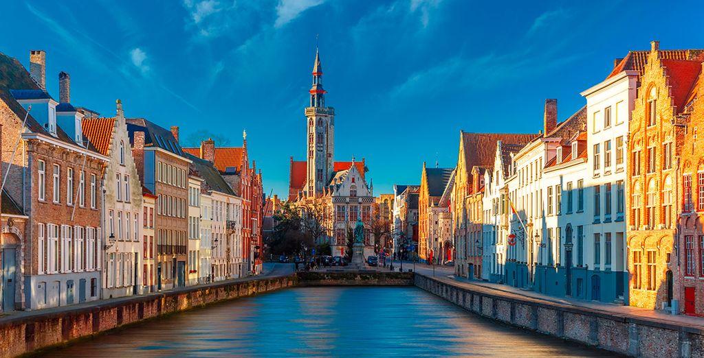 Una ciudad encantadora que parece sacada de un cuento