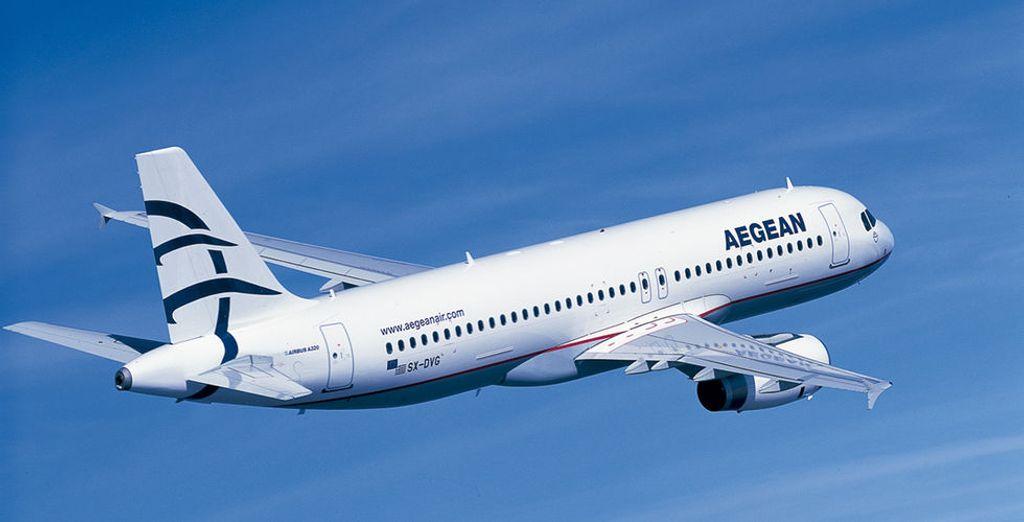 Aegean Airlines, miembro de Star Alliance, es la mayor aerolínea griega proporcionando desde sus comienzos en 1999 hasta hoy