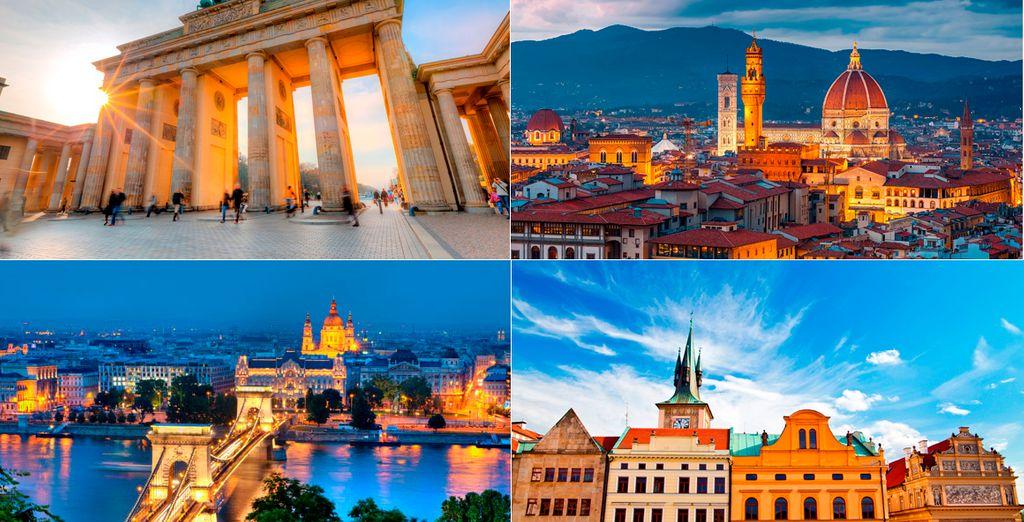 4 destinos a elegir