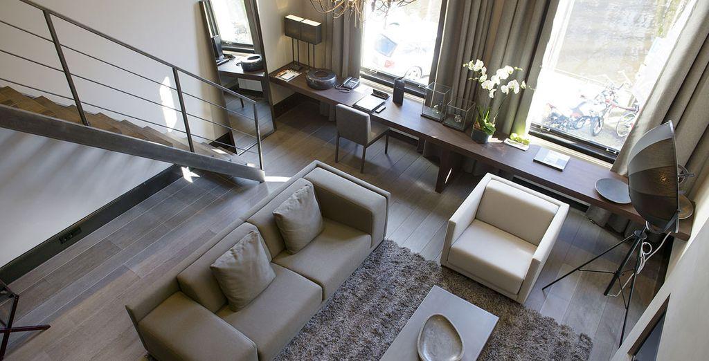 O bien, en un Luxury Duplex...