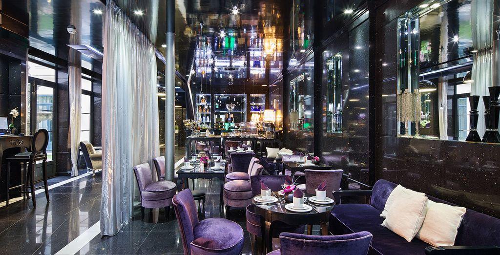 La decoración del hotel combina el lujo, la moda y la contemporaneidad