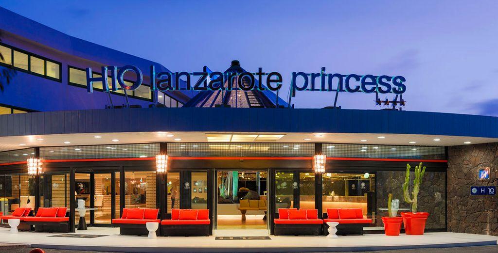 Bienvenido al Hotel H10 Princess