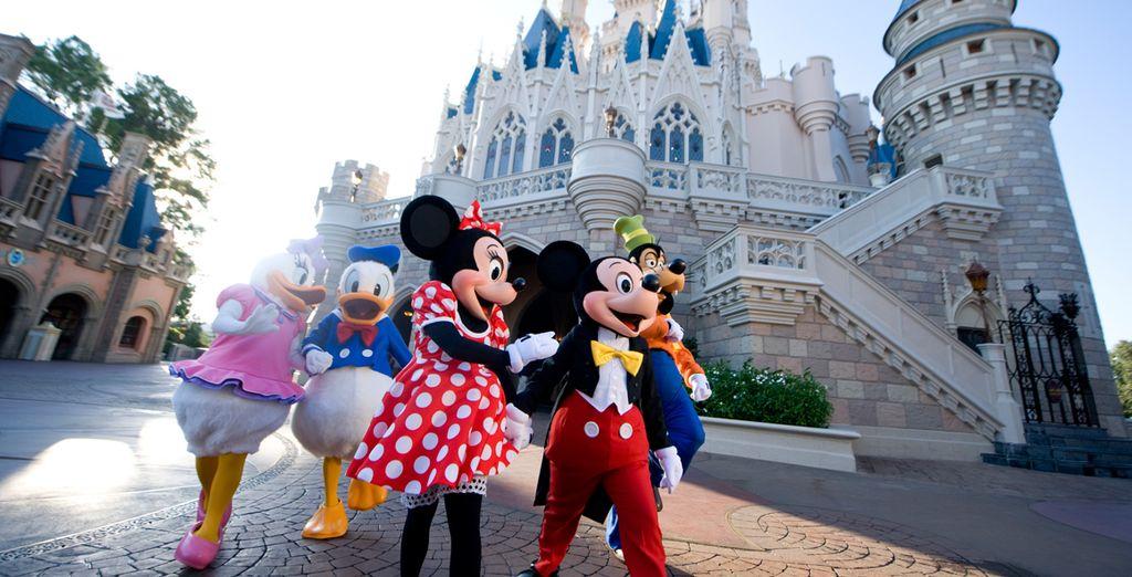 Viva una experiencia única en Disney