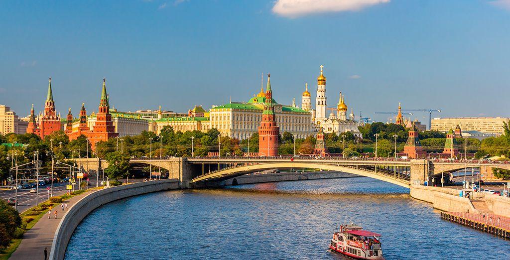 En este circuito, tu primera parada será la capital, Moscú