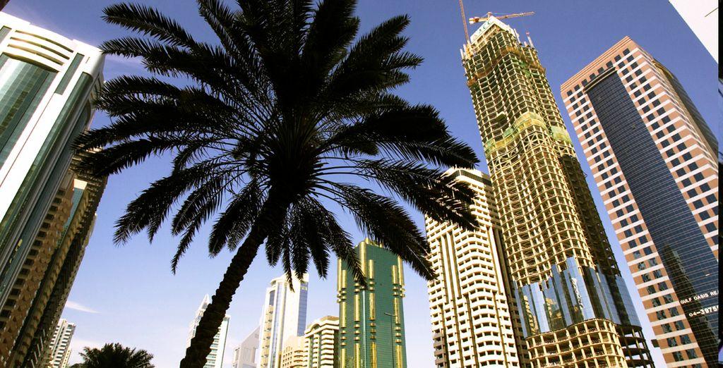 La mayor ciudad de los Emiratos Árabes
